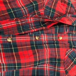 L.L. Bean Tops - L.L. BEAN. PLAID SHIRT High Quality Soft